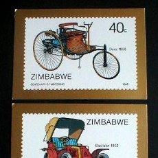 Postales: CURIOSAS POSTALES DE ZIMBABWE..COCHES.. ENVIO GRATIS¡¡¡. Lote 5645185