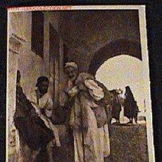 Postales: ANTIGUA FOTO DE TETUAN - MARRUECOS - UN MENDIGO - ED. M. ARRIBAS - NO CIRCULADA.. Lote 15208652