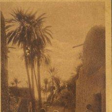 Postales: TARJETA POSTAL DE MARRUECOS.VILLAGE ARABE. Lote 9980056