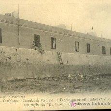 Postales: TARJETA POSTAL DE CASABLANCA Nº 10. CONSULAT DE PORTUGAL. Lote 10169382