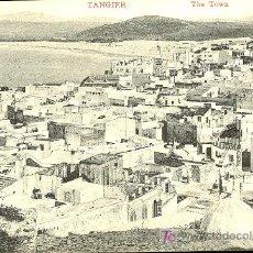 Postales: TARJETA POSTAL DE TANGER . THE TOWN. Lote 10170512