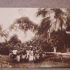 Postales: GUINEA CONTINENTAL A-16.POBLADO BUBI EN SAN CARLOS. 644. Lote 10804935