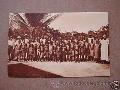 GUINEA CONTINENTAL B-3.PERSONAL DE UNA EXPLOTACION. 640 (Postales - Postales Extranjero - África)
