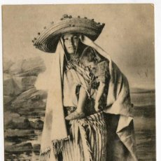 Postales: TANGER. 43. FEMME DE LA MONTAGNE. ED. AU BON MATHURIN. Lote 24488050
