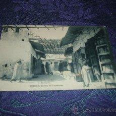 Postales: TETUAN BARRIO DE TEJEDORES,J BERINGOLA FOTOTIPIA HAUSER Y MENET-MADRID. Lote 11416221