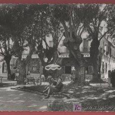 Postales: CHERCHELL - LE PLACE ET HOTEL CESARÉE - 1958. Lote 26288842