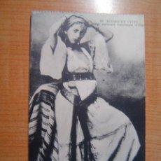 Postales: POSTAL SCENES ET TYPES JEUNE DANSEUSE MAURESQUE D´ALGER SIN CIRCULAR. Lote 12505542