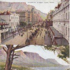 Postales: PS3295 LOTE DE 3 POSTALES DE CAPE TOWN - ED. VALENTINE&SONS - SIN CIRCULAR. Lote 14410765