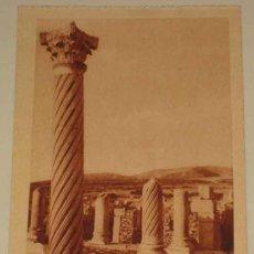 Postales: ANTIGUA POSTAL DE VOLUBILIS - MARRUECOS - FOTO FRANDRIN - NO CIRCULADA.. Lote 14371487
