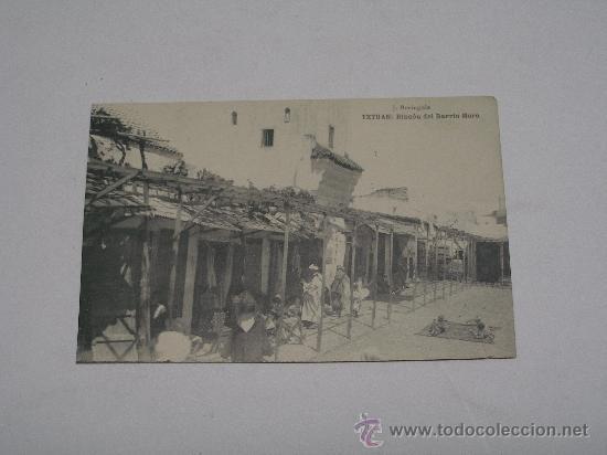 TETUAN . RINCÓN DEL BARRIO MORO . J. BERINGOLA . FOT. HAUSER Y MENET . SIN CIRCULAR (Postales - Postales Extranjero - África)