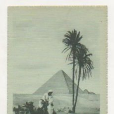 Postales: EGIPTO. LA PIRÁMIDE DE CHEOPS. EGYPT. THE PYRAMID OF CHEOPS. . Lote 15242769