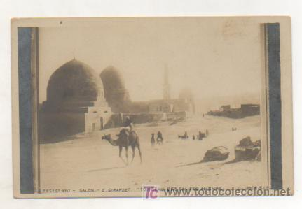EGIPTO. LAS TUMBAS DE LOS CALIFAS EN EL CAIRO. REVERSO SIN DIVIDIR. (Postales - Postales Extranjero - África)