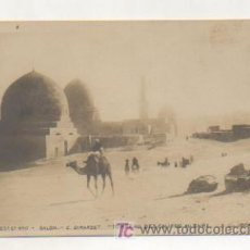 Postales: EGIPTO. LAS TUMBAS DE LOS CALIFAS EN EL CAIRO. REVERSO SIN DIVIDIR. . Lote 15242834