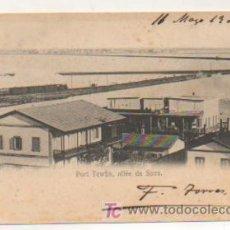 Postales: EGIPTO. PORT TEWFIK, SUEZ. FERROCARRIL. . Lote 15256370
