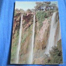Postales: POSTAL MARRUECOS CASCADAS OUZOUD NO CIRCULADA. Lote 15985719