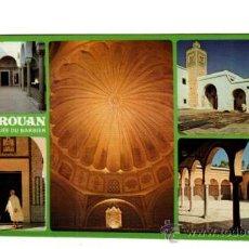 Postales: KAIROUAN TUNEZ LA MOSQUEE DU BARBIER 567 MEZQUITA SIN CIRCULAR NI ESCRITA. Lote 19208524