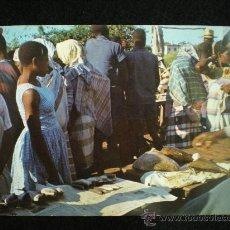 Postales: TARJETA POSTAL. MOZAMBIQUE. BEIRA. MERCADO INDÍGENA. AÑOS 60.. Lote 19422762