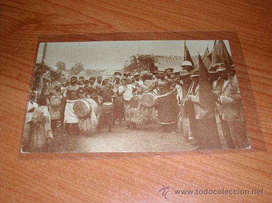 POSTAL DE GUINEA CONTINENTAL (POBLADO BUGEBA). C-11. (AÑO 1929). 894 (Postales - Postales Extranjero - África)