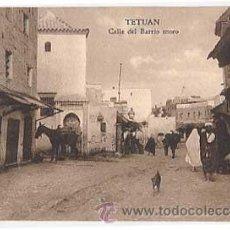 Postais: TETUAN. CALLE DEL BARRIO MORO. SIN CIRCULAR. Lote 22479599