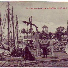 Postales: SENEGAL - RUFISQUE - AFRIQUE OCCIDENTALE.. Lote 22531600