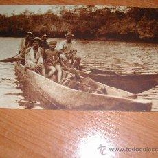 Postales: B-29. FAMILIA NAVEGANDO POR RIO KONGÜE. 932. Lote 24593975