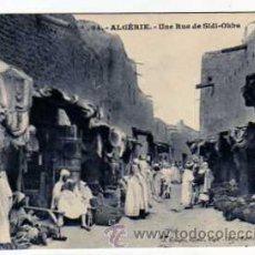 Postales: ALGEIRE. UNA CALLE DE SIDI OKBA. BRINGAU EDITOR ALGER. CLICHE BERTHOUD. SIN CIRCULAR. ARGELIA.. Lote 25605062