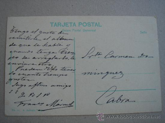 Postales: DETALLE PARTE POSTERIOR - Foto 4 - 27396344