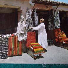 Postales: MARRUECOS-TAROUDANT-ESCUDO DE ORO-70'. Lote 26270529