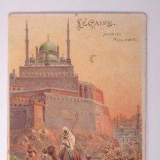 Postales: TARJETA POSTAL DE LE CAIRE, MOSQUÉE MOHAMED - ALI, W.HAGELBERG AKT GES BERLIN 35980. Lote 26886923