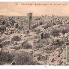 Postales: TARJETA POSTAL. MARRUECOS. BOUGRARA, RUINES ROMAINES DE L´ANCIENNE GIOGTHI. ND. PHOT.. Lote 27773688