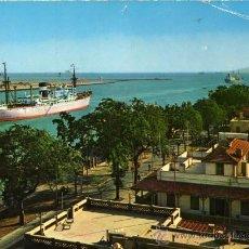 Postales: CANAL DE SUEZ ESCRITA CIRCULADA CON SELLOS . Lote 28757833