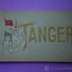 Postales: TANGER(MARRUECOS). CARNET POSTAL CON 10 TARJETAS POSTALES.. Lote 32127882