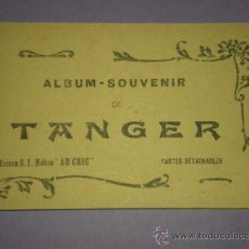 Postales: TANGER (MARRUECOS) CARNET POSTAL CON 9 TARJETAS POSTALES.. Lote 29179076