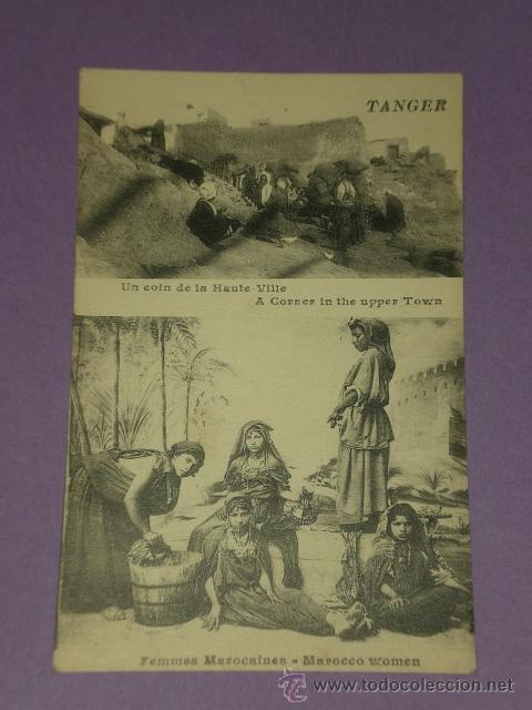 TANGER(MARRUECOS). LOTE DE DOS TARJETAS POSTALES. (Postales - Postales Extranjero - África)