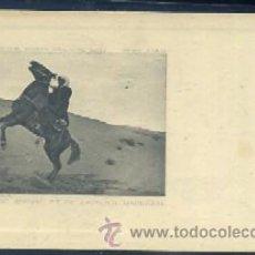 Postales: POSTAL DE MARRUECOS - TYPE DE CHEVAL ET DE CAVALIER MAROCAIN P-AFYMA-332. Lote 29975365