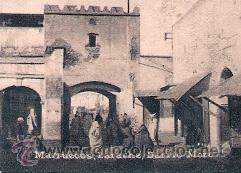 POSTAL ORIGINAL DECADA DE LOS 30. MARRUECOS, LARACHE. Nº 1469. VER TAMAÑO Y EXPLICACION (Postales - Postales Extranjero - África)