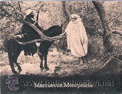 POSTAL ORIGINAL DECADA DE LOS 30. MARRUECOS. Nº 1483. VER TAMAÑO Y EXPLICACION (Postales - Postales Extranjero - África)
