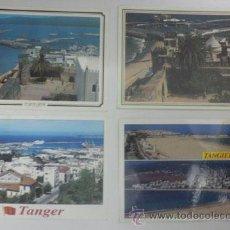 Postales: 4 POSTALES TANGER - NO CIRCULADAS. Lote 31089099