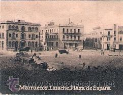 POSTAL ORIGINAL DECADA DE LOS 30. MARRUECOS, LARACHE. Nº 1467. VER TAMAÑO Y EXPLICACION (Postales - Postales Extranjero - África)