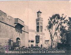POSTAL ORIGINAL DECADA DE LOS 30. MARRUECOS, LARACHE. Nº 1468. VER TAMAÑO Y EXPLICACION (Postales - Postales Extranjero - África)