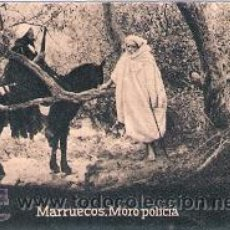 Postales: POSTAL ORIGINAL DECADA DE LOS 30. MARRUECOS. MORO POLICIA. Nº 1483. VER TAMAÑO Y EXPLICACION. Lote 31459396