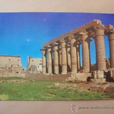 Postales: EGYPT CARD. EGIPTO. LUXOR, GENERAL VIEW OF TEH TEMPLE OF KARNOK. Lote 31688218