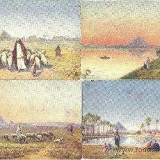 Postales: PS1104 LOTE DE 7 POSTALES ANTIGUAS DE EGIPTO. PRIMER TERCIO S. XX. ALGUNAS ESCRITAS AL DORSO. Lote 31951651