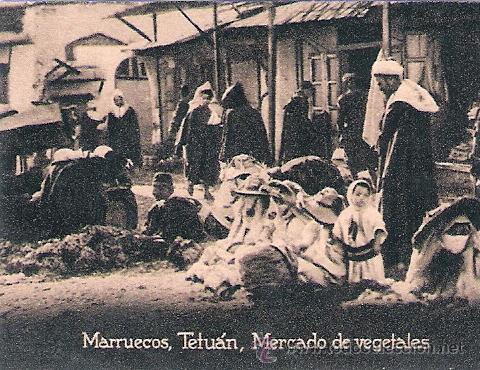 POSTAL ORIGINAL DECADA DE LOS 30. MARRUECOS. Nº 1476. VER TAMAÑO Y EXPLICACION. (Postales - Postales Extranjero - África)