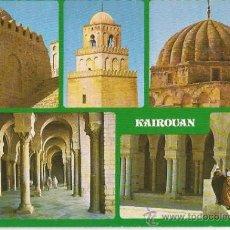Postales: ** PW49 - POSTAL - KAIROUAN - TUNEZ - ESCRITA. Lote 32036388