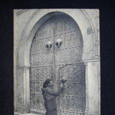 Postales: POSTAL 6064. SCÈNES ET TYPES. PORTE D'UNE MAISON ARABE. I.L. L.RELIN. ALGERIA.. Lote 32325415