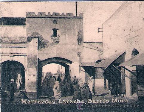 POSTAL ORIGINAL DECADA DE LOS 30. MARRUECOS. LARACHE. Nº 1469. VER TAMAÑO Y EXPLICACION. (Postales - Postales Extranjero - África)