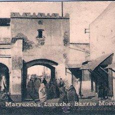 Postales: POSTAL ORIGINAL DECADA DE LOS 30. MARRUECOS. LARACHE. Nº 1469. VER TAMAÑO Y EXPLICACION.. Lote 32419742