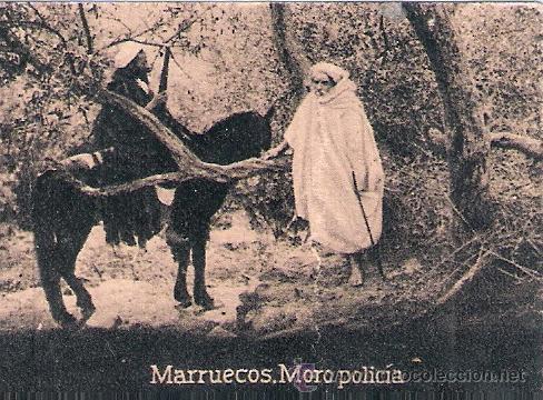 POSTAL ORIGINAL DECADA DE LOS 30. MARRUECOS. Nº 1483. VER TAMAÑO Y EXPLICACION. (Postales - Postales Extranjero - África)
