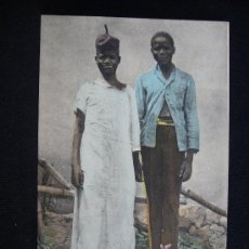 Postales: POSTAL 46. DAKAR. AFRIQUE OCCIDENTALE. TYPES LÉBOUS. SENEGAL.. Lote 32570627